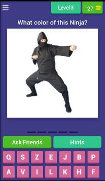 Guess Little Ninja screenshot 2