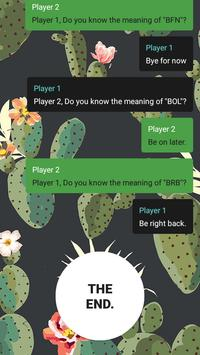 Teen Chat Story screenshot 1