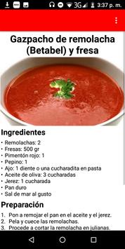 Ricas recetas con fresa (frutillas) para disfrutar screenshot 2