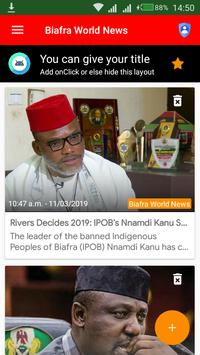Biafra World News poster