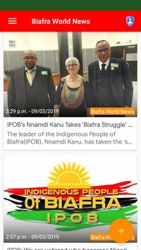Biafra World News screenshot 1