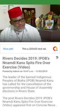 Biafra World News screenshot 2