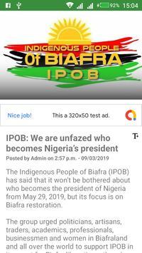 Biafra World News screenshot 5