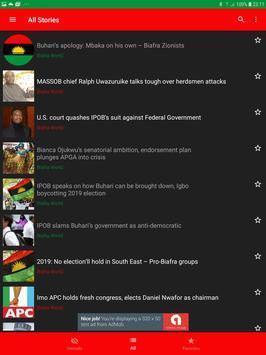 Biafra World News screenshot 9