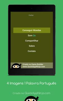 4 Imagens 1 Palavra Português screenshot 13