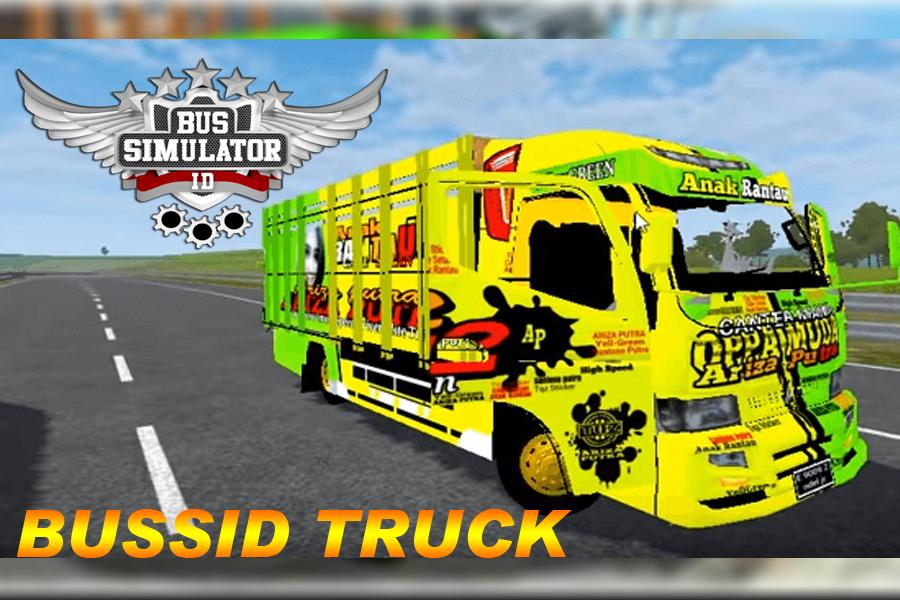 Download aplikasi hp android gratis terbaru LIVERY BUSSID MOD TRUCK Indonesia