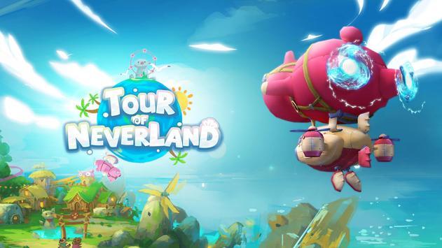 Tour of Neverland الملصق