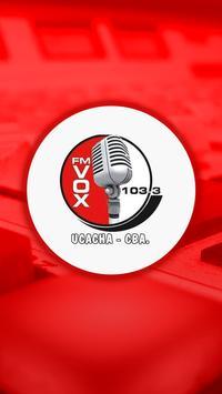 Fm Vox Ucacha poster