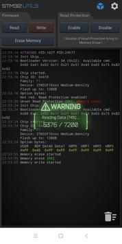 STM32 Utils syot layar 2