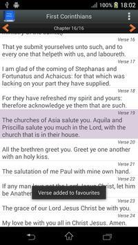Bible King James Version screenshot 4