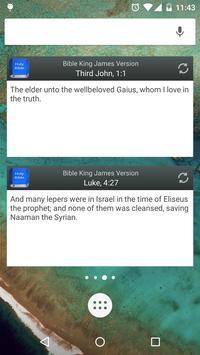 Bible King James Version screenshot 7