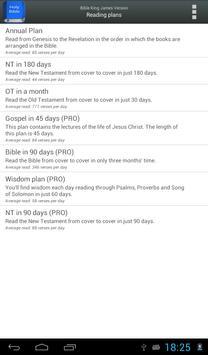 Bible King James Version screenshot 13