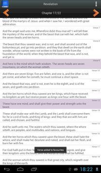 Bible King James Version screenshot 11