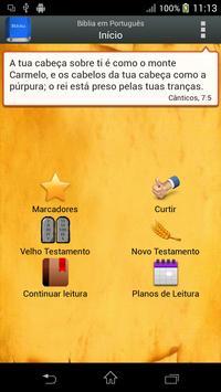 Bíblia em Português Plakat