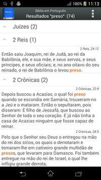 Bíblia em Português Screenshot 1