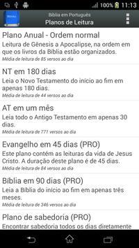 Bíblia em Português Screenshot 3