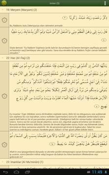 Türkçe Kur'an-ı Kerim screenshot 9
