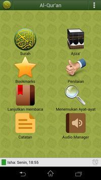 Al'Quran Bahasa Indonesia plakat