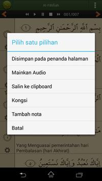 Quran Bahasa Melayu screenshot 5