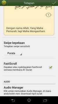 Quran Bahasa Melayu screenshot 6