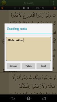 Quran Bahasa Melayu screenshot 7