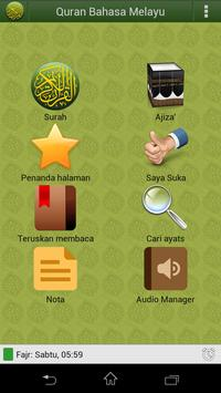 Quran Bahasa Melayu poster