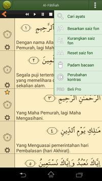 Quran Bahasa Melayu screenshot 3