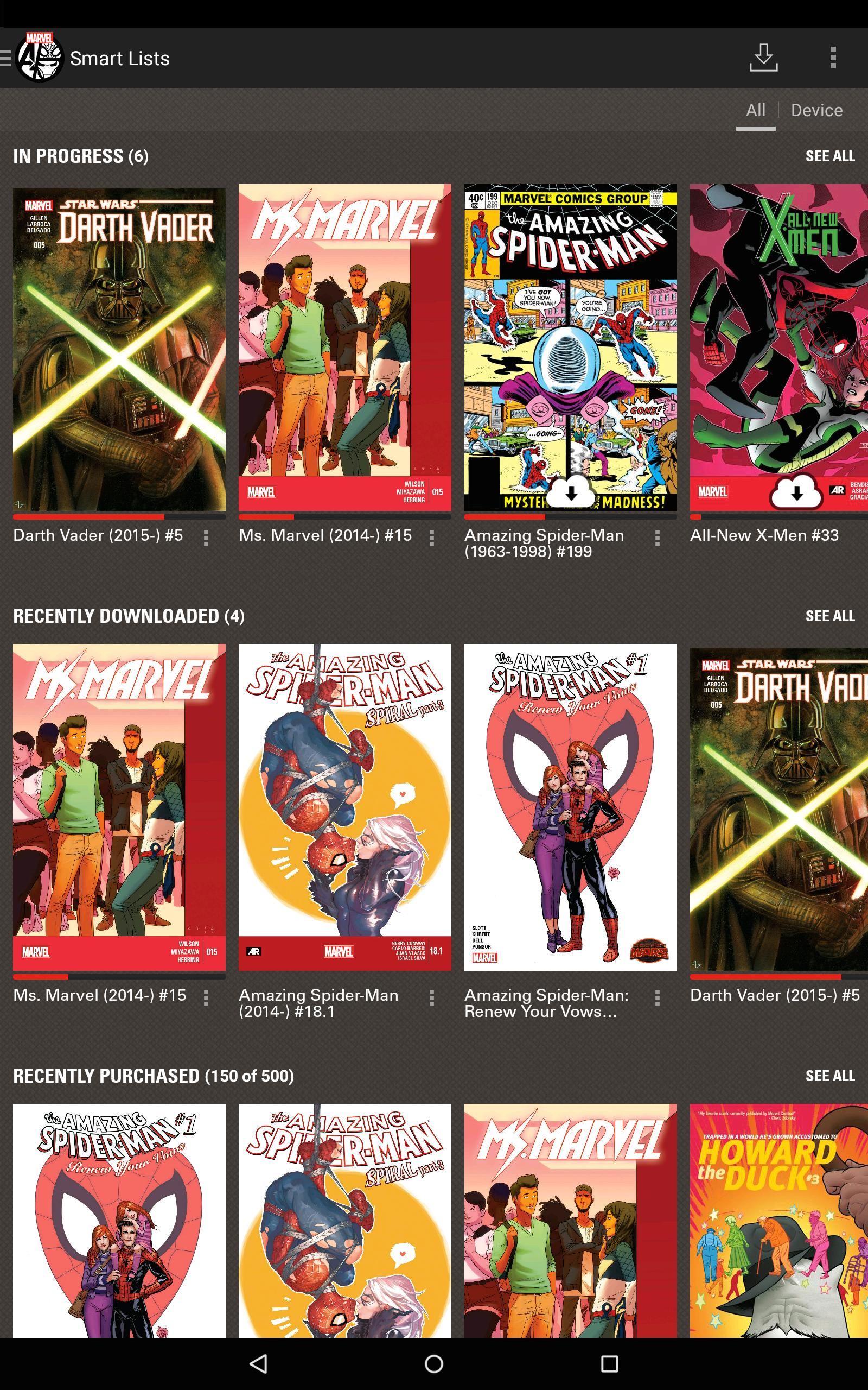 Marvel Comics for Android - APK Download