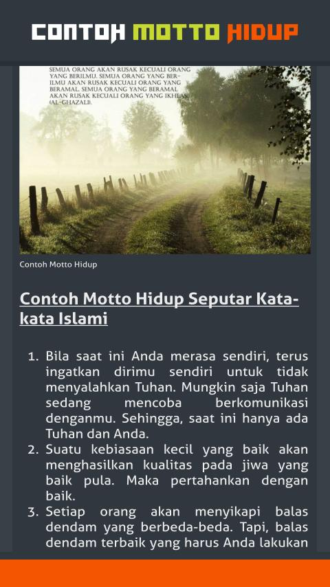 Contoh Motto Hidup For Android Apk Download