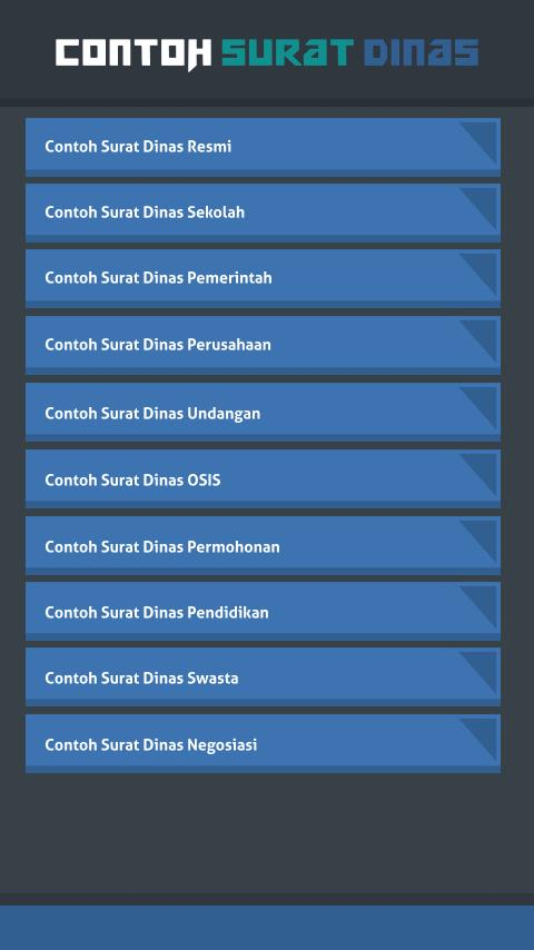 Contoh Surat Dinas For Android Apk Download