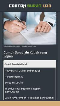 Contoh Surat Izin screenshot 5