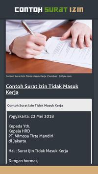 Contoh Surat Izin screenshot 3