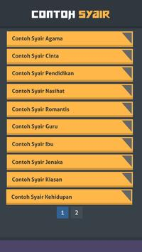 Contoh Syair screenshot 1
