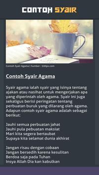 Contoh Syair screenshot 3