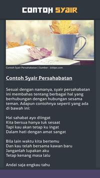 Contoh Syair screenshot 7