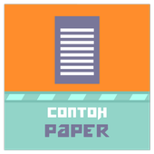Contoh Paper icon