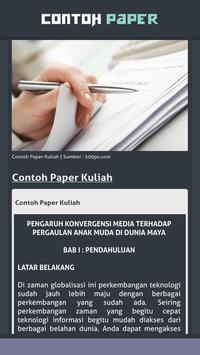 Contoh Paper screenshot 3