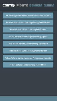 Contoh Pidato Bahasa Sunda screenshot 1
