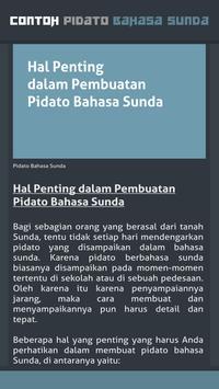 Contoh Pidato Bahasa Sunda screenshot 2