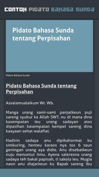 Contoh Pidato Bahasa Sunda screenshot 4