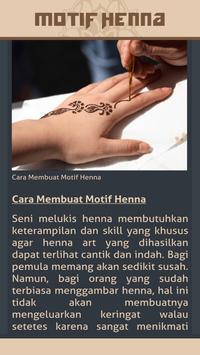 Gambar Motif Henna screenshot 3
