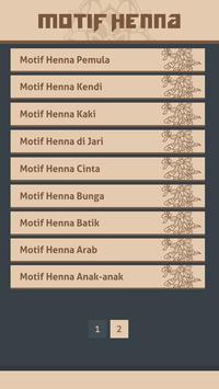 Gambar Motif Henna screenshot 2