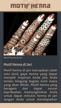 Gambar Motif Henna screenshot 6