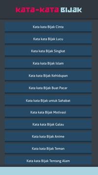Kata-Kata Bijak screenshot 1