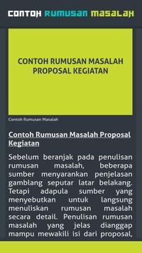 Contoh Rumusan Masalah Bahasa Sunda