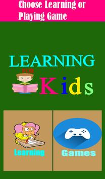 Learning Kids screenshot 4
