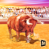 Angry Bull Attack Simulator 2019 icon