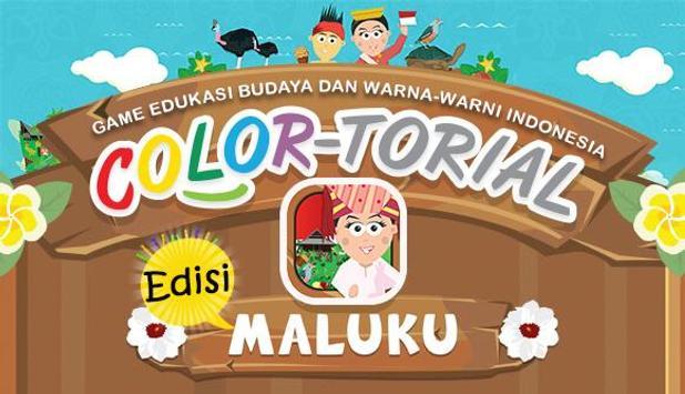 Colortorial Maluku poster