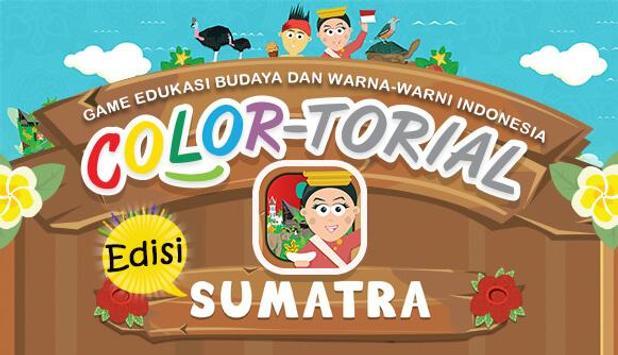 Colortorial Sumatra poster