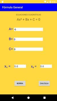 Fórmula General poster